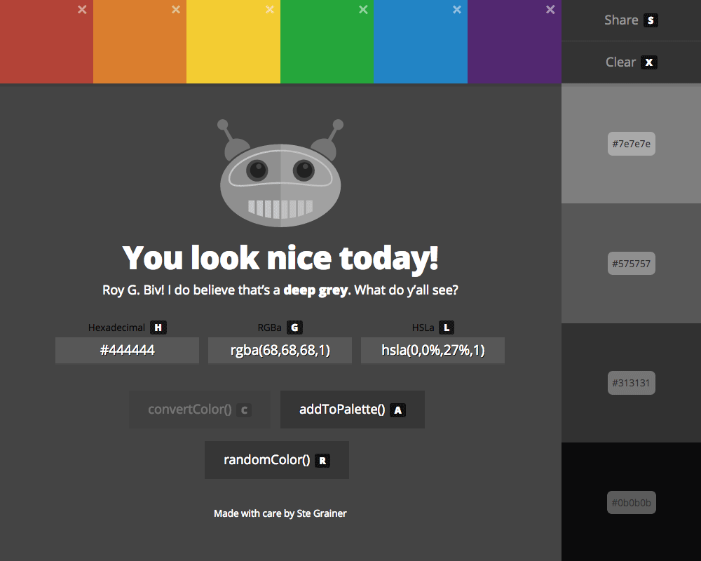 ColorBot: Your personal color assistant