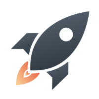 The Rocket app icon - a rocket ship