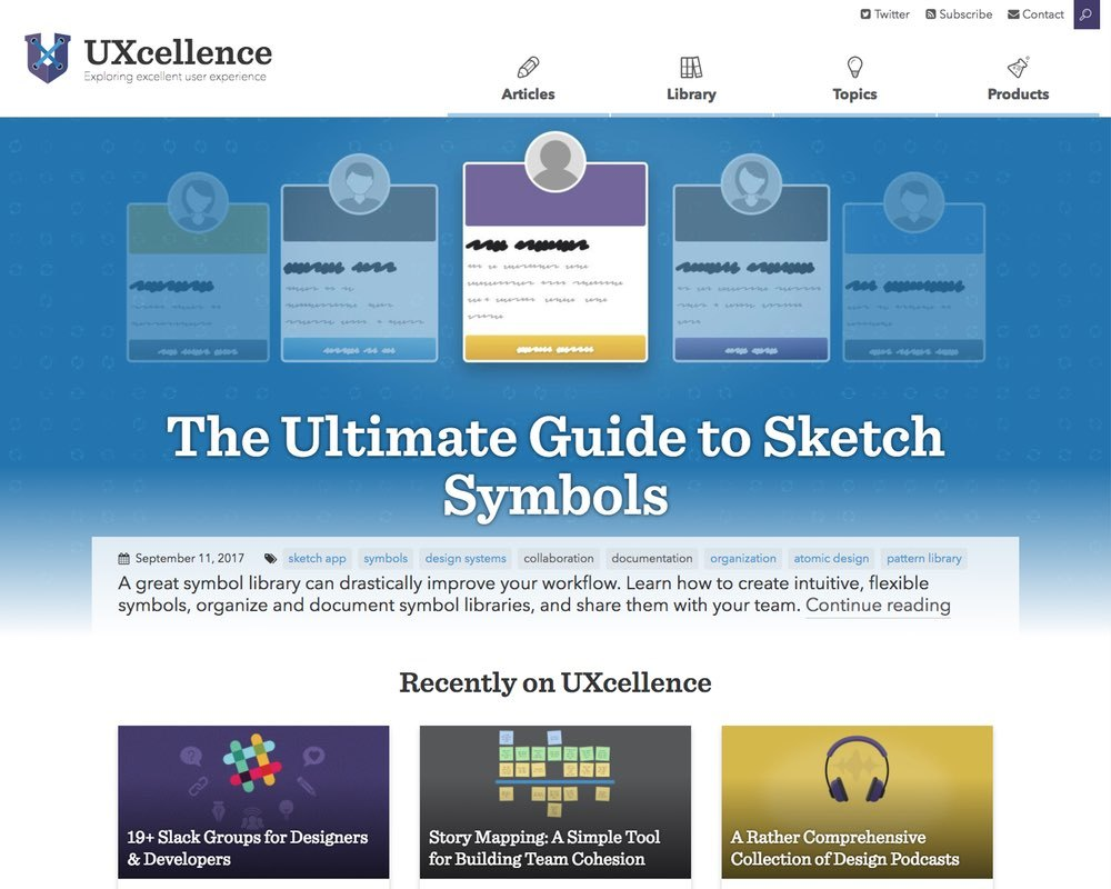 I started UXcellence as an outlet for design and development ideas I wanted to share with others. It has evolved into a set of projects to help people build better products.