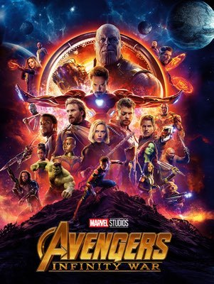 Movies: Avengers: Infinity War by Anthony & Joe Russo