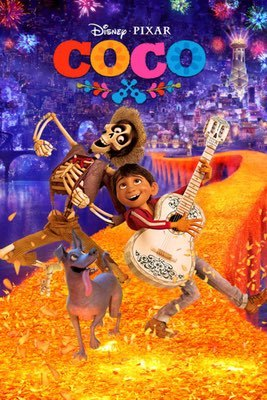 Movies: Coco by Lee Unkrich & Adrian Molina