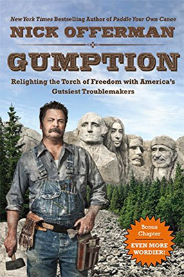 Books: Gumption by Nick Offerman
