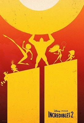 Movies: Incredibles 2 by Brad Bird