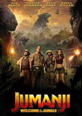 Jumanji: Welcome to the Jungle by Jake Kasdan