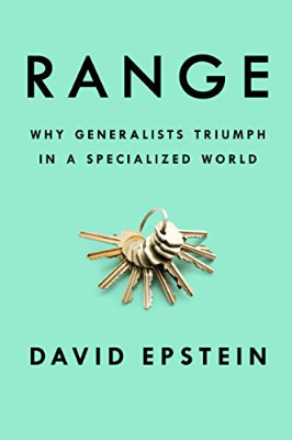 Books: Range by David J. Epstein.