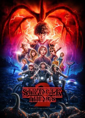 TV Shows: Stranger Things (Season 2) by Matt & Ross Duffer