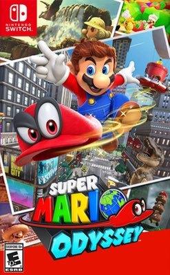 Games: Super Mario Odyssey by Nintendo